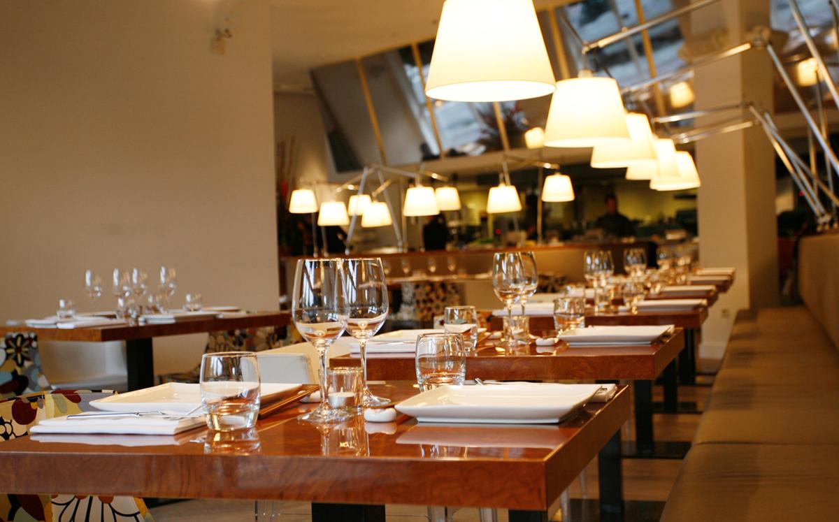 chic restaurant amsterdam